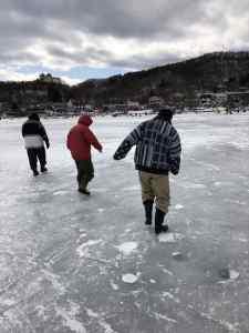 榛名湖ワカサギ釣り