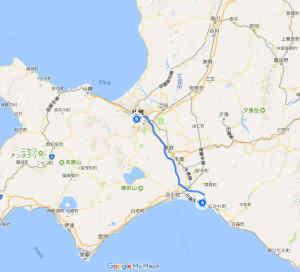 北海道ツーリング地図
