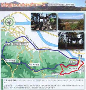 御前山ハイキングマップ