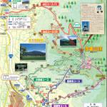 宝篋山ハイキングマップ