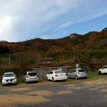 大小山登山道駐車場