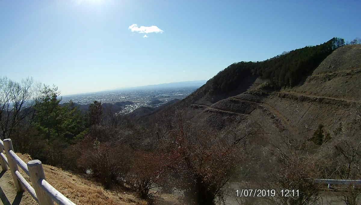 大岩山 駐車場からの風景