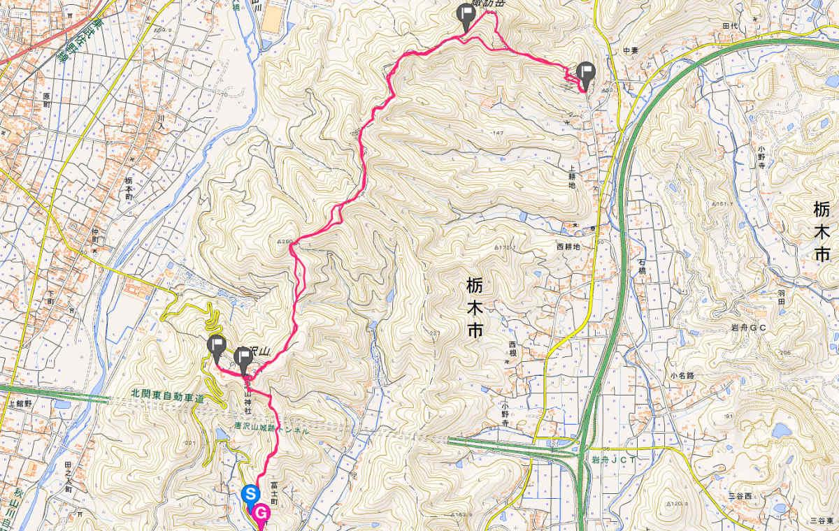 唐澤山トレイルランニングコース