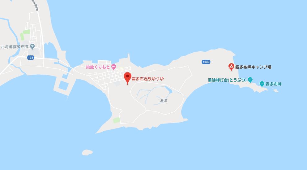 霧多布(きりたっぷ) 岬キャンプ場